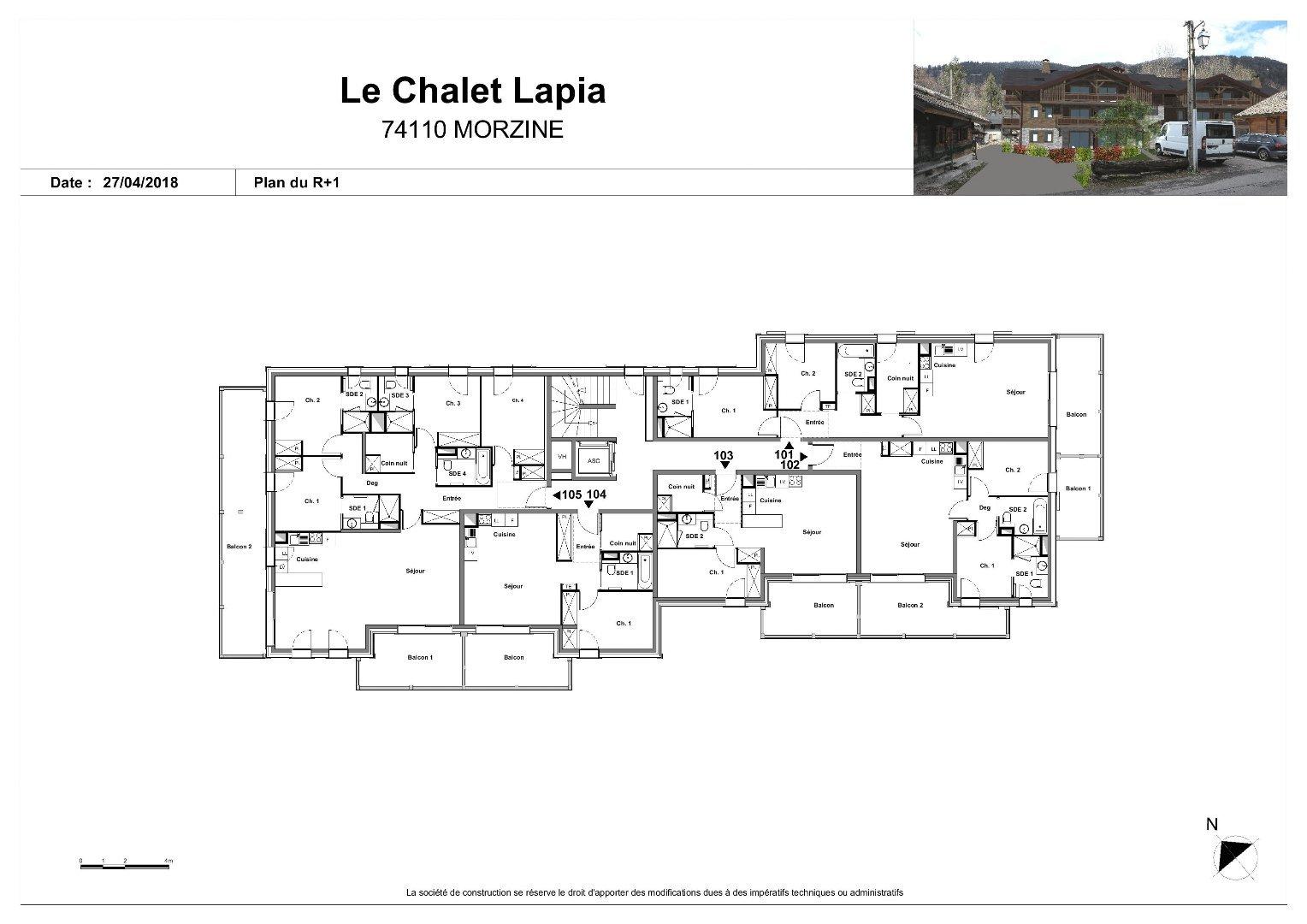 New build luxury 2 bedroom apartment - Morzine Immobilier